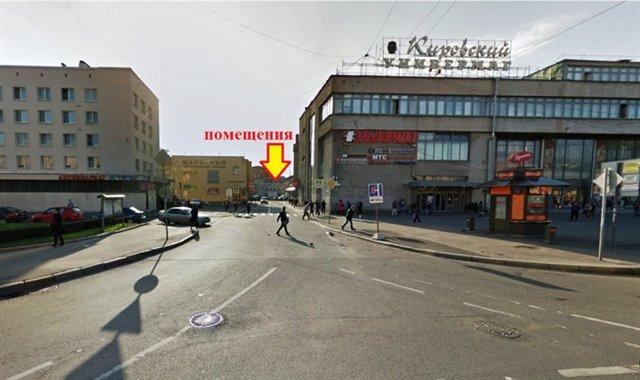 Торговое помещение 385 кв.м., Кировский район