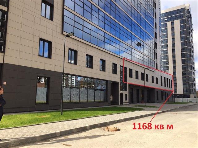 Помещение свободного назначения 1163 кв.м., Московский район