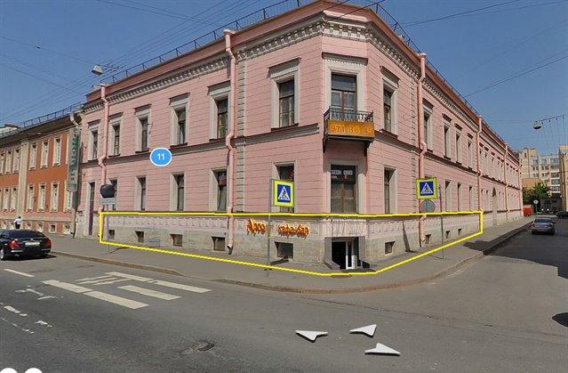 Торговое помещение 151 кв.м., Василеостровский район