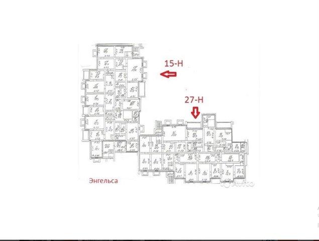 Офисное помещение 567 кв.м., Выборгский район