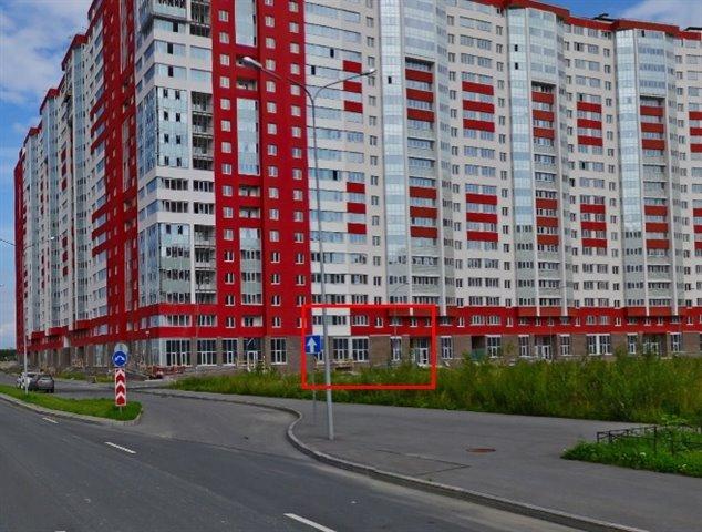 Торговое помещение 93 кв.м., Красносельский район