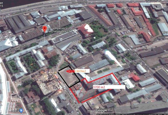 Земельный участок 2469 кв.м., Центральный район