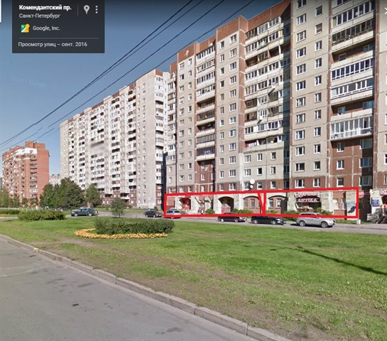 Общепит 326 кв.м., Приморский район