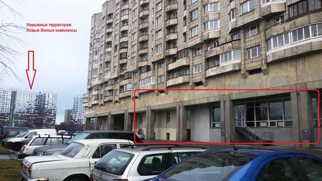 Торговое помещение 1400 кв.м., Василеостровский район