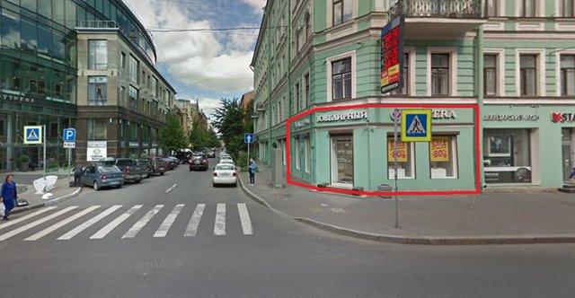 Помещение свободного назначения 61 кв.м., Петроградский район