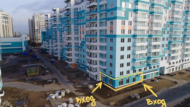 Торговое помещение 55 кв.м., Калининский район