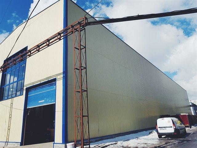 Производственное помещение 1500 кв.м., Красногвардейский район