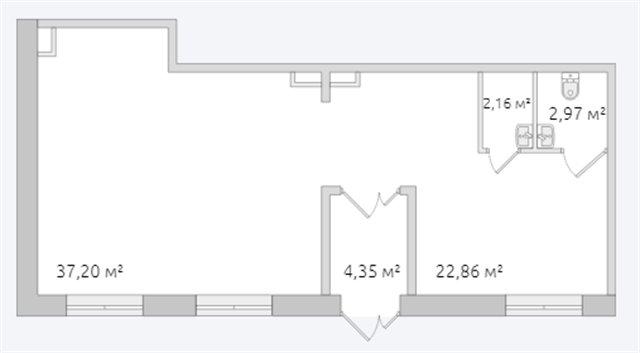 Торговое помещение 70 кв.м., Московский район