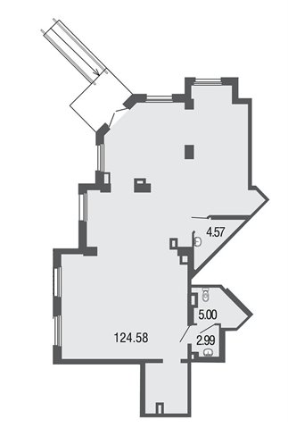 Помещение свободного назначения 137 кв.м., Невский район