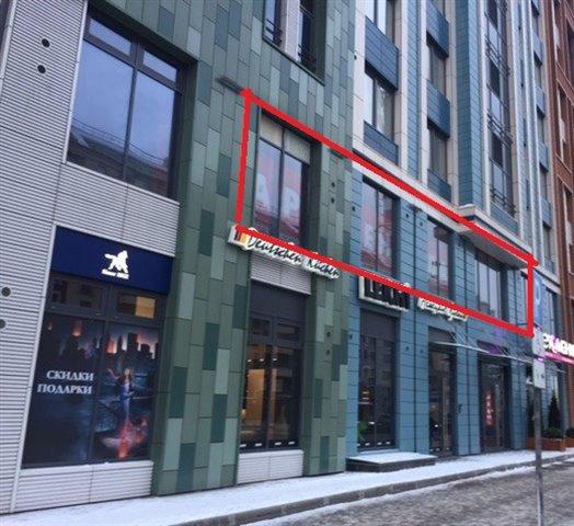Торговое помещение 125 кв.м., Петроградский район
