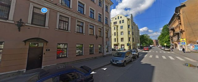 Офисное помещение 800 кв.м., Петроградский район