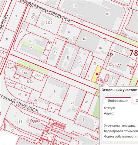 Земельный участок 52,7 кв.м., Выборгский район