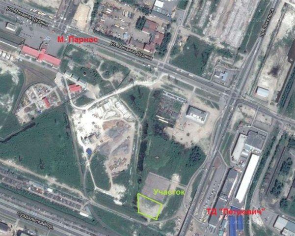 Земельный участок 38,11 кв.м., Выборгский район