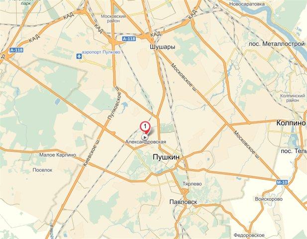 Земельный участок 50000 кв.м., Пушкинский район