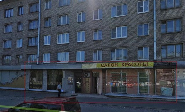 Торговое помещение 186 кв.м., Приморский район