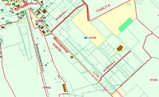 Земельный участок 770 кв.м., Пушкинский район