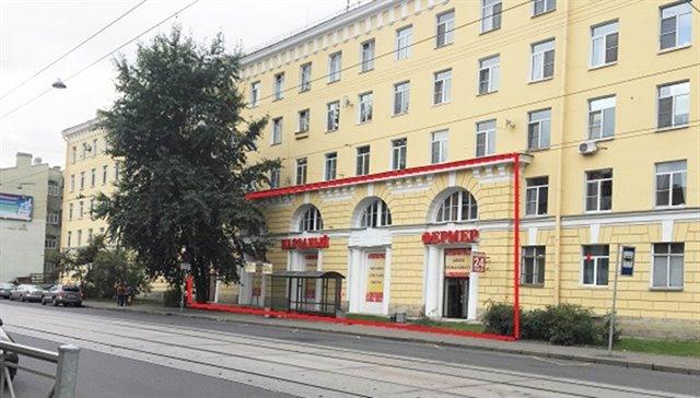 Торговое помещение 450 кв.м., Калининский район