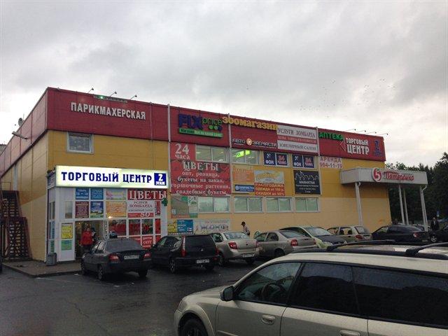 Торговое помещение 1255 кв.м., Приморский район