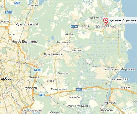Земельный участок 1140000 кв.м., Всеволожский район ЛО