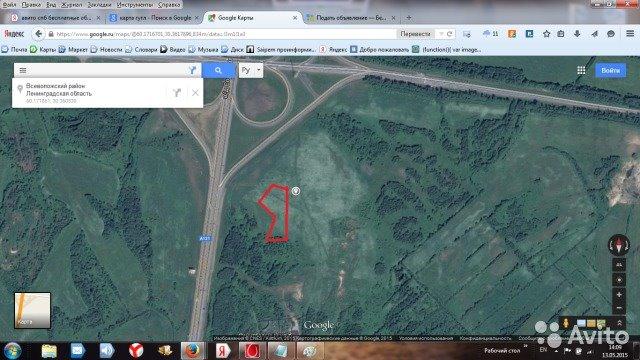 Земельный участок 122,6 кв.м., Приозерский район ЛО