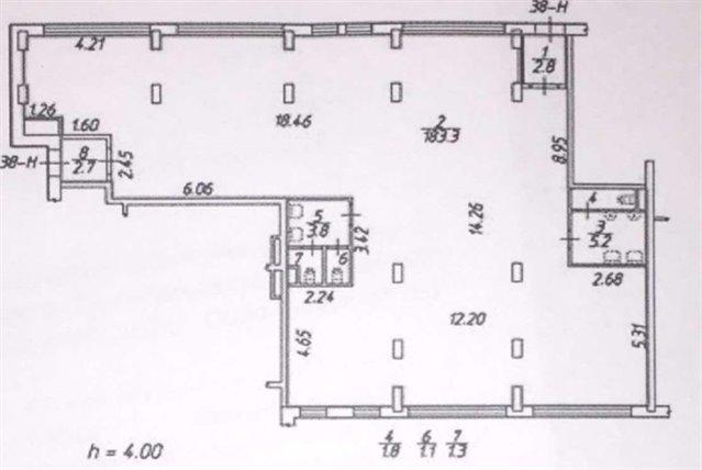 Торговое помещение 200 кв.м., Красногвардейский район