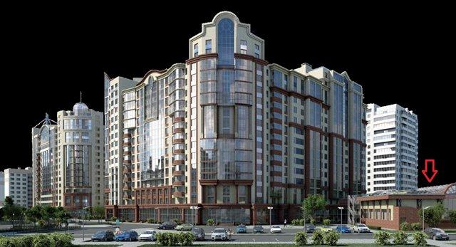 Торговое помещение 2487 кв.м., Калининский район