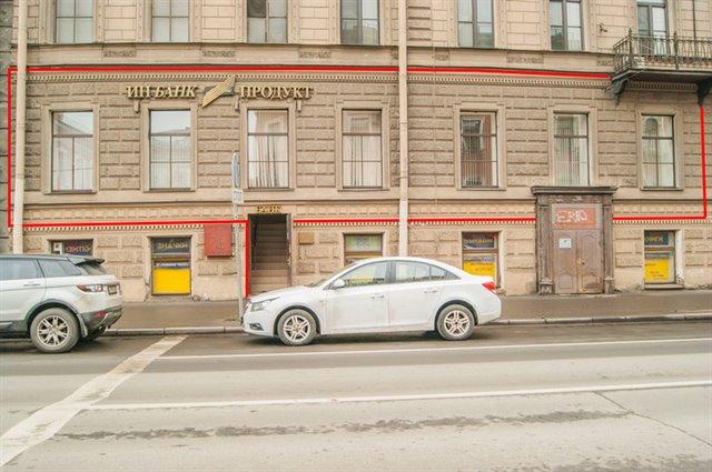 Торговое помещение 253 кв.м., Василеостровский район