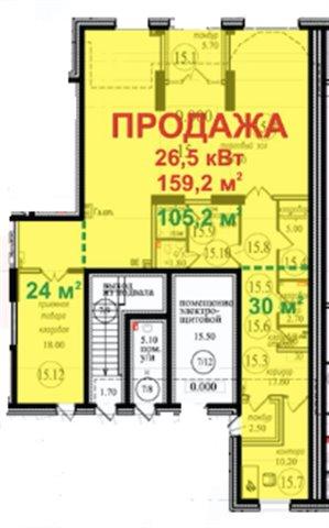 Торговое помещение 204 кв.м., Выборгский район