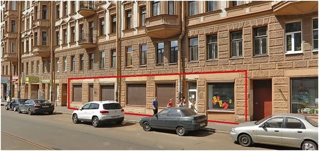 Торговое помещение 268 кв.м., Кировский район