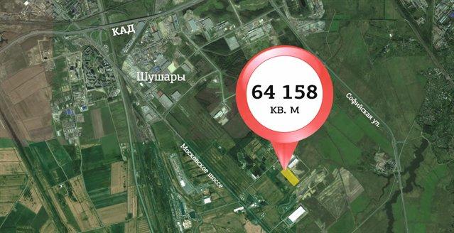 Земельный участок 641,58 кв.м., Пушкинский район