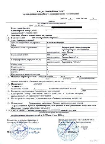 Торговое помещение 950 кв.м., Кировский район