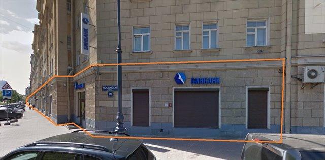 Офисное помещение 862 кв.м., Московский район