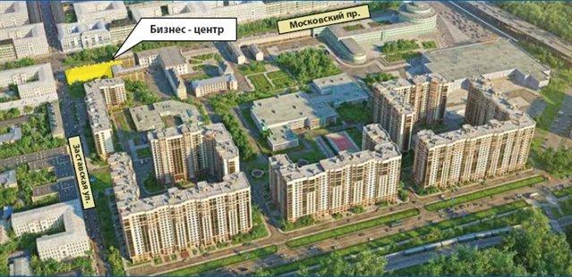 Офисное помещение 3018 кв.м., Московский район