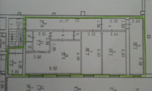 Офисное помещение 24 кв.м., Фрунзенский район